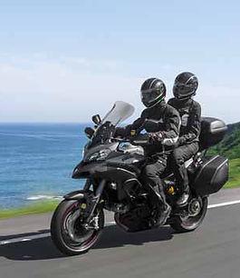 Viajado en moto
