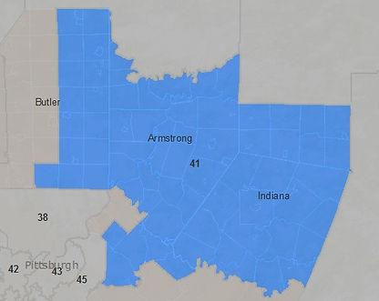 Tony DeLoreto for State Senate District Map