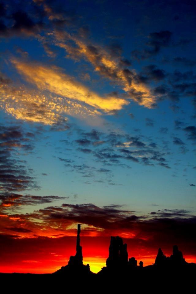 The Totem Pole at Sunrise