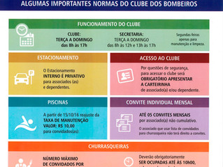 NORMAS DO CLUBE DOS BOMBEIROS