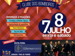 2º ARRAIÁ DO CLUBE DOS BOMBEIROS