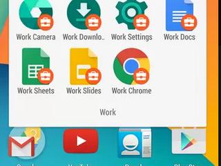 Android for Work app separa o sistema em 'pessoal' e 'para o trabalho'