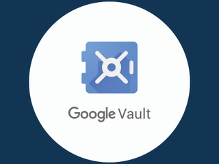 A nova interface do Google Vault se tornará a única