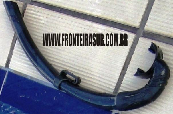 Snorkel Flexível - Caça Sub - Fronteira Sub
