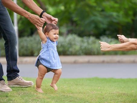 Acidentes mais comuns com crianças que estão aprendendo a andar
