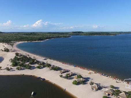 Praias de água doce no Brasil