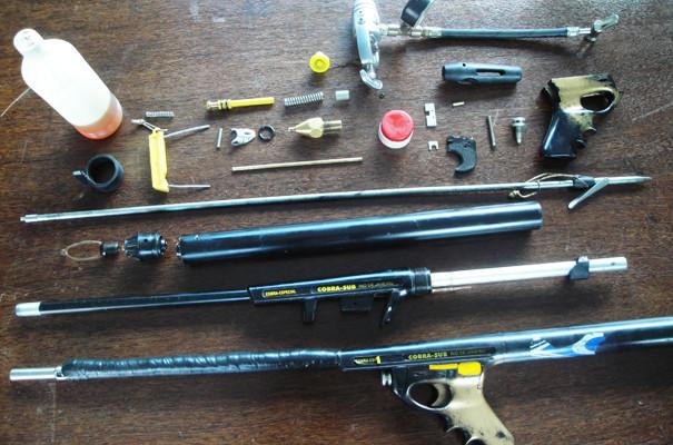Armas para Caça Sub Pneumáticas