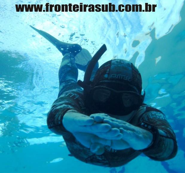 O melhor Curso de pesca sub - Foto Caça Sub Word - Fronteira Sub