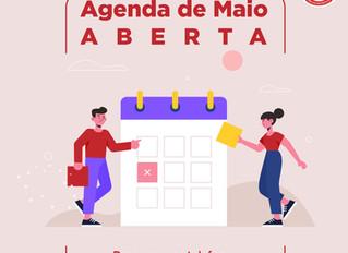 Agenda de Maio Aberta