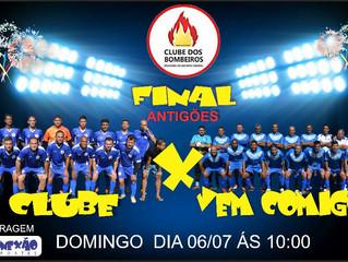 FINAL DO XIX CAMPEONATO DE FUTEBOL SOCIETY DO CLUBE DOS BOMBEIROS