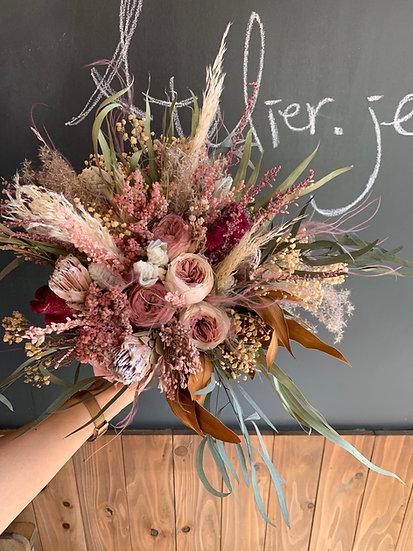 Dry flower bouquet set