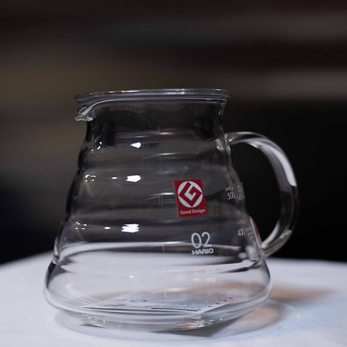 Hario V60 800ml Clear Glass Server