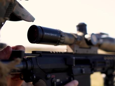 Английские снайперы на учениях