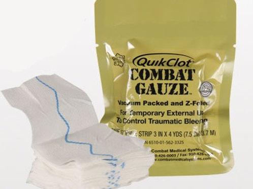 Quikclot Combat Gauze кровоостанавливающее средство (бинт) военный