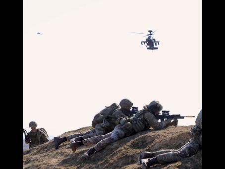 Английские вертолетчики в Эстонии