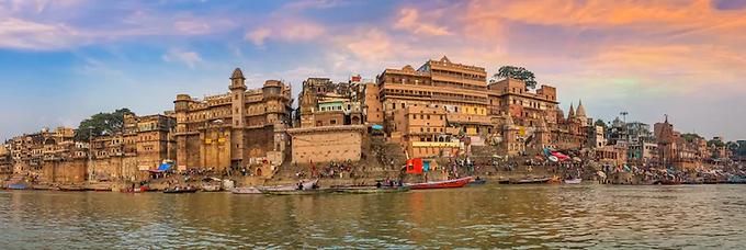 The history of Varanasi