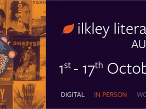 I'm heading to Ilkley ... if you can't catch me in person...book the live stream! Oct  9 !!