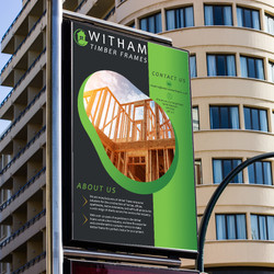 Witham timber frame poster
