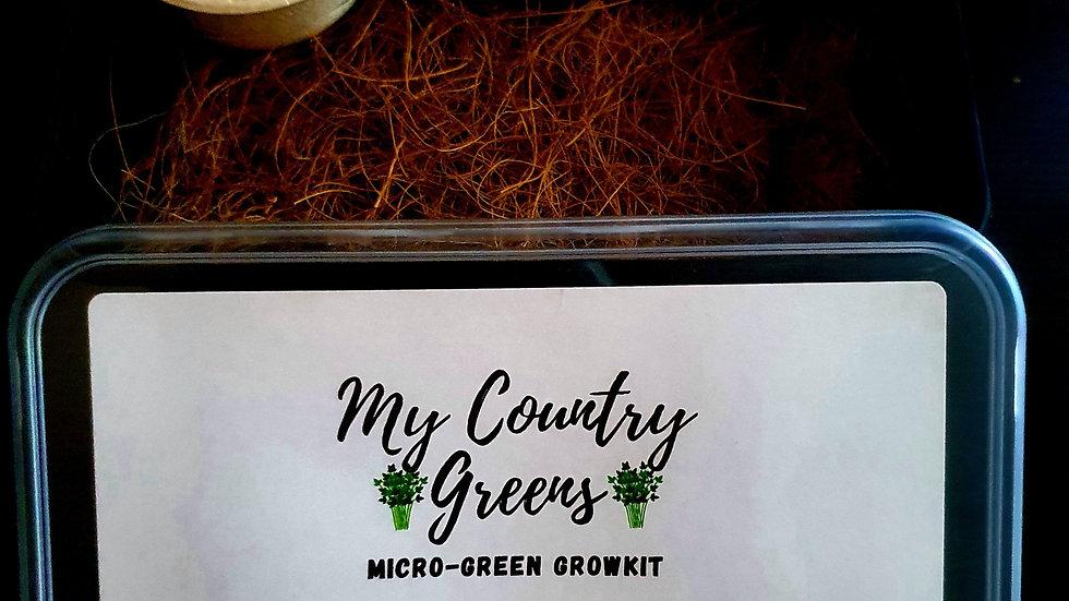 Micro-green Growkit.