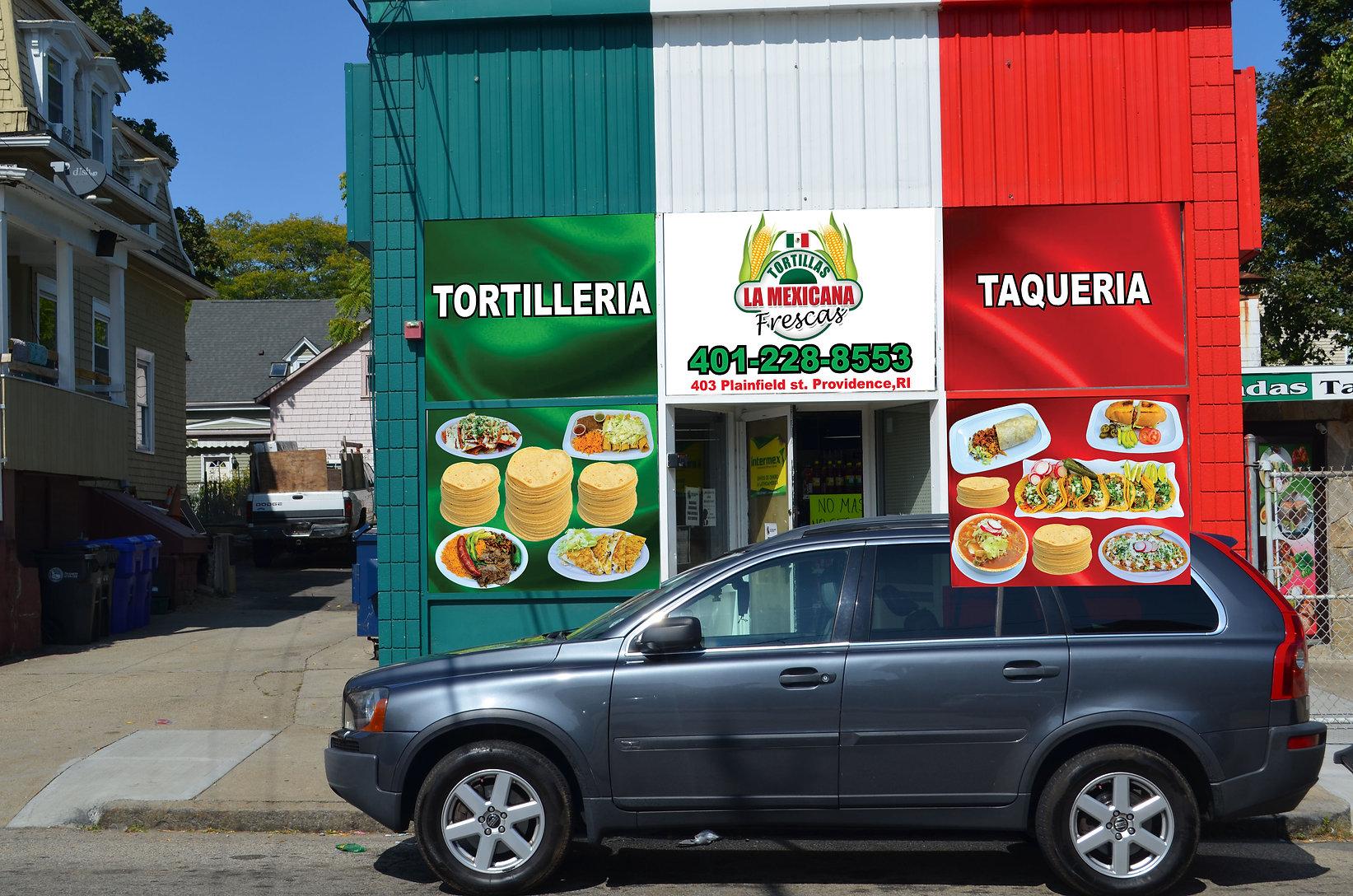 tortilleria la mexicana ventanas puestas