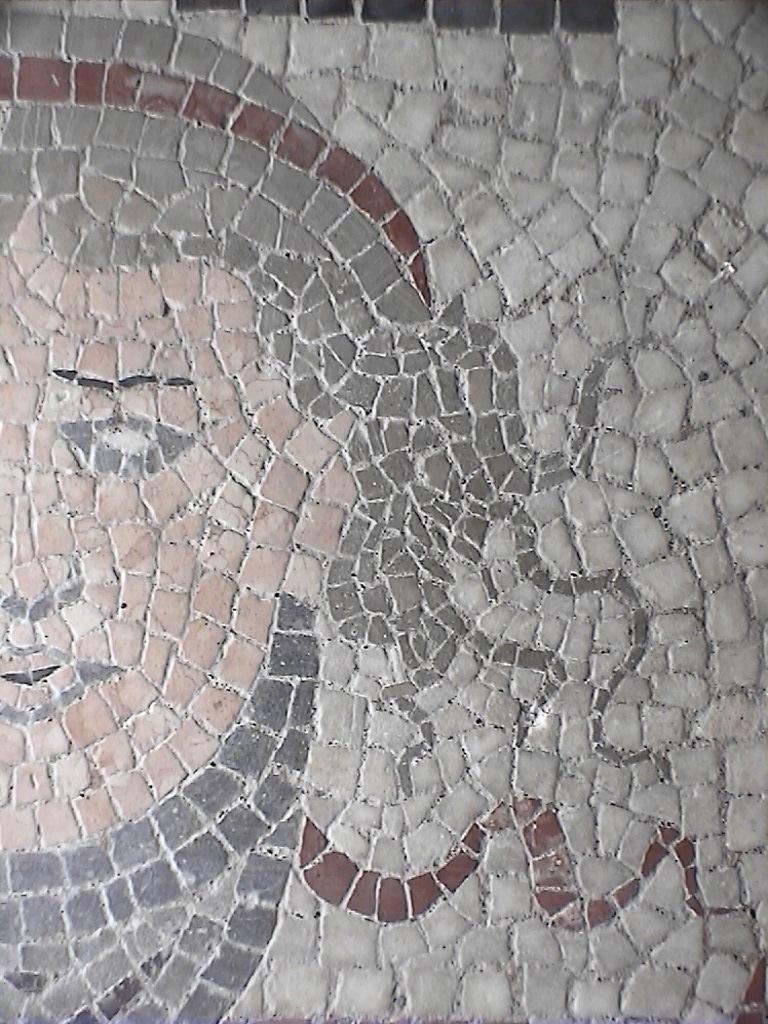Tete en mosaïque