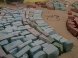 Mosaïque de granito