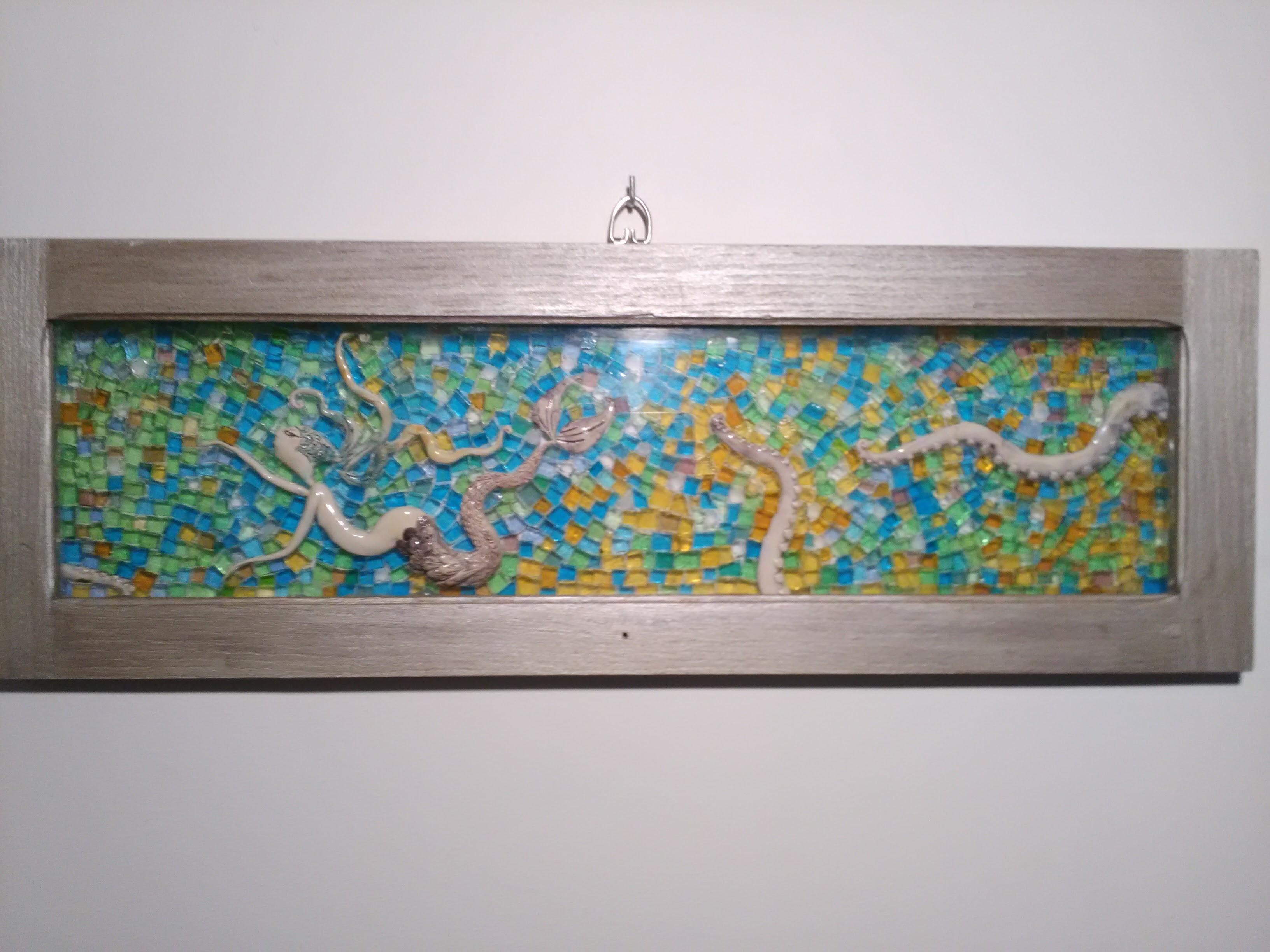 Mosaïque de verre