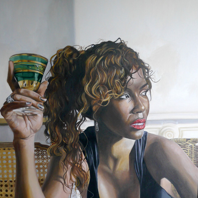 Portrait of Cecelia, Barcelona