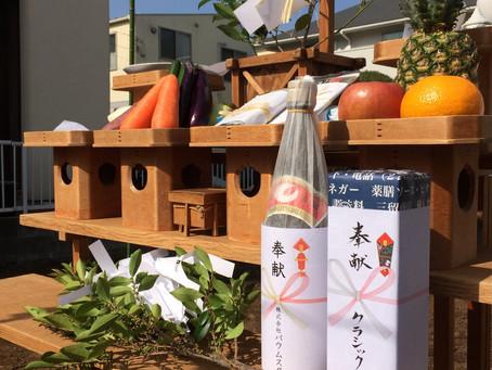 茅ヶ崎T邸 カラマツ林の家 地鎮祭