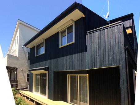カラマツ林の家 竣工