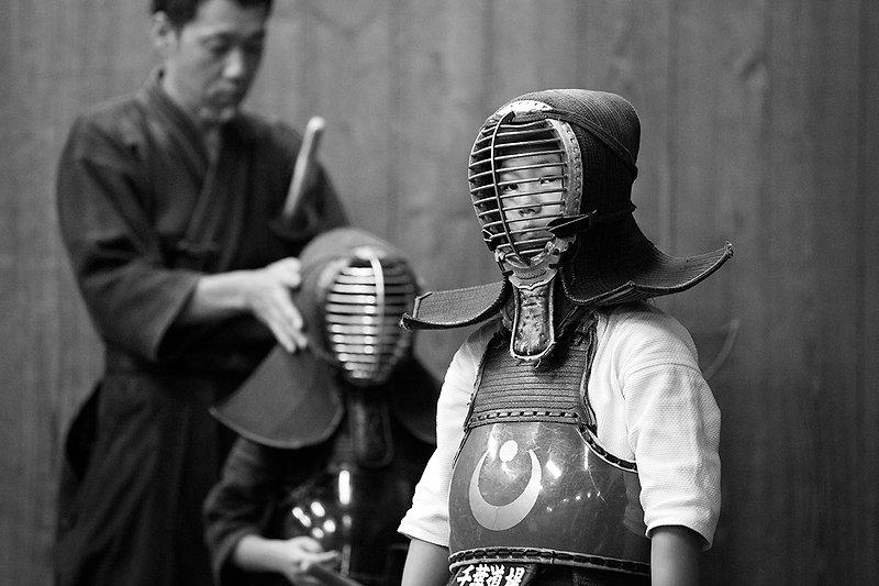 剣道 残心