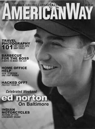 America Airlines Magazine