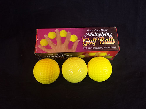 UNCLE MAJIC Multiplying Golf Balls
