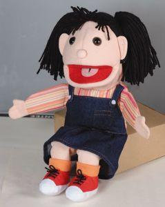 Puppets - Girl 15 Inch