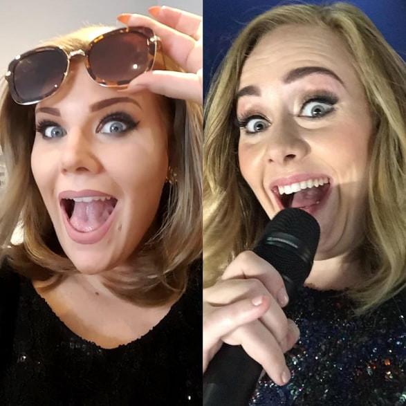 Adele tribute, Adele funny, Adele impersonator