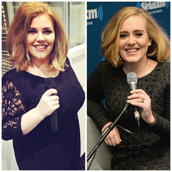 Adele tribute look a like