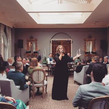 Adele tribute wedding