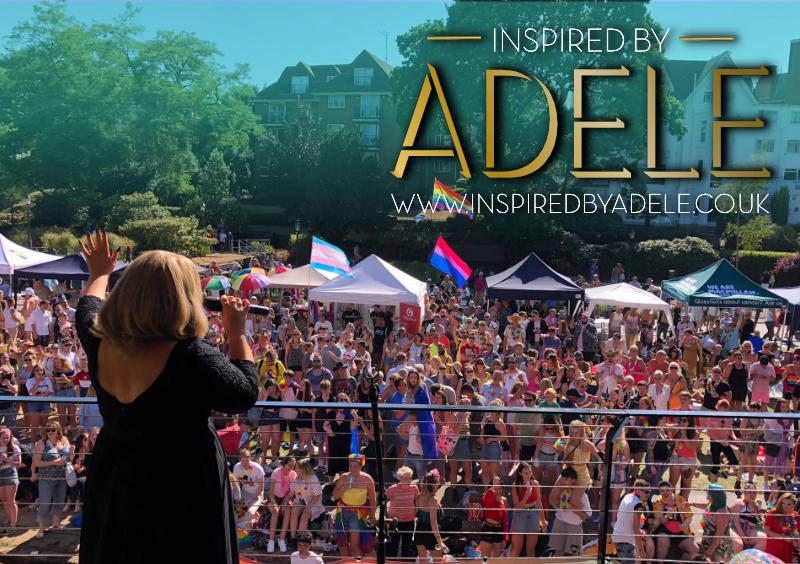 Adele Tribute Pride festival