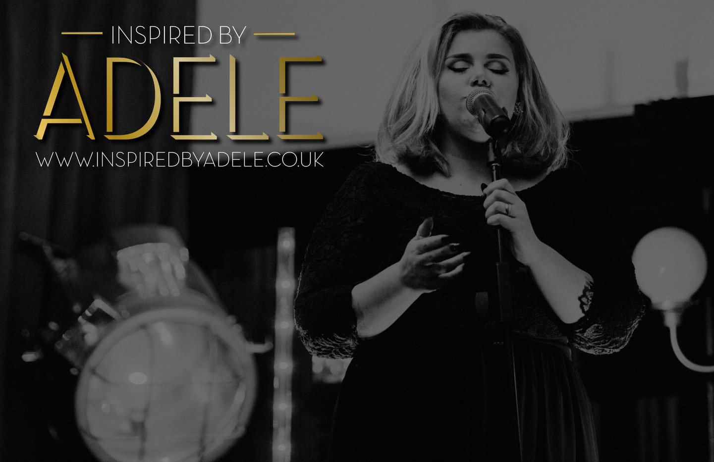 Adele poster tribute look a like