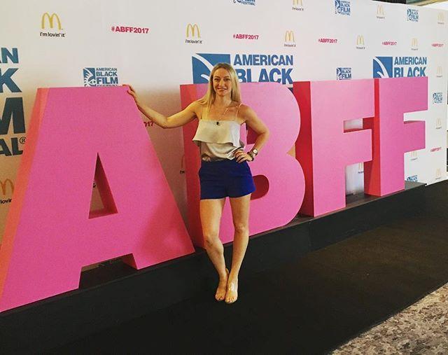 American Black Film Festival !! #ABFF #bkbluesky #shaderesponsibly #southbeach #actorlife #community