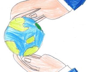 Protege o planeta azul
