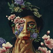 Eyes in Floral