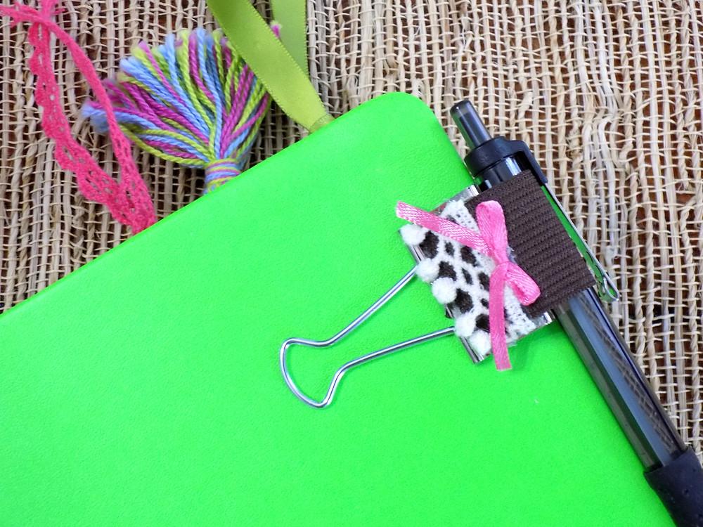 Bullet Journal Pen Clip