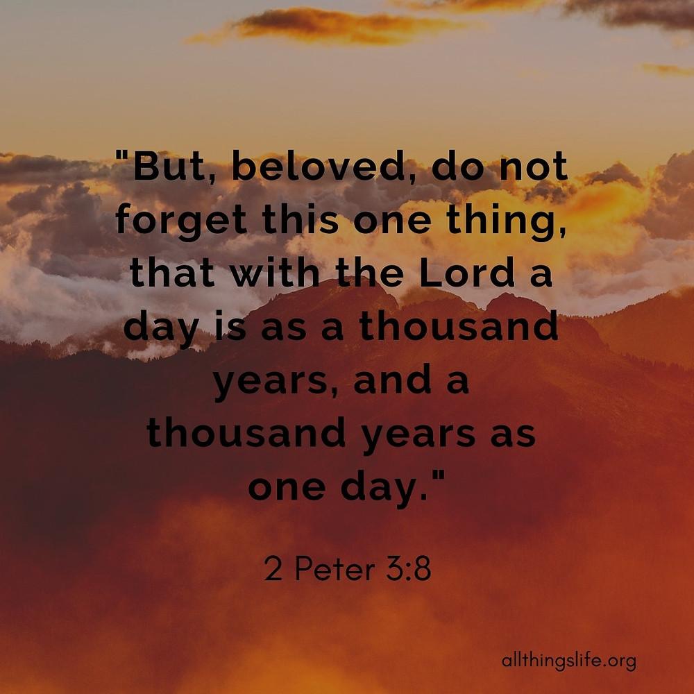 2 Peter 3:8