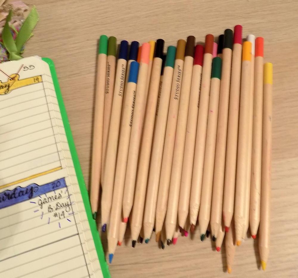 Favorite Colored Pencils