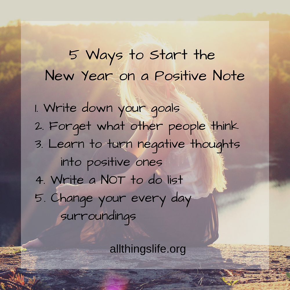 5 ways to start the new year on a positive note