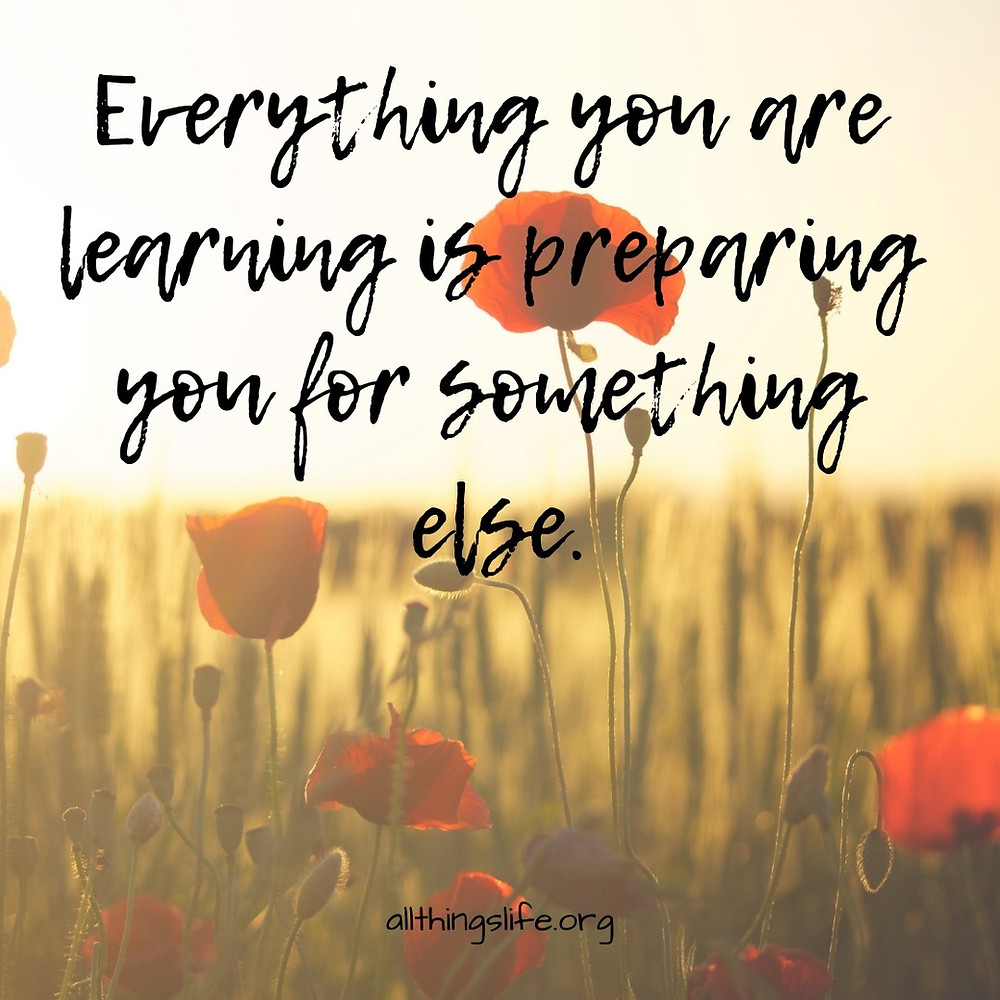Learning Prepares You