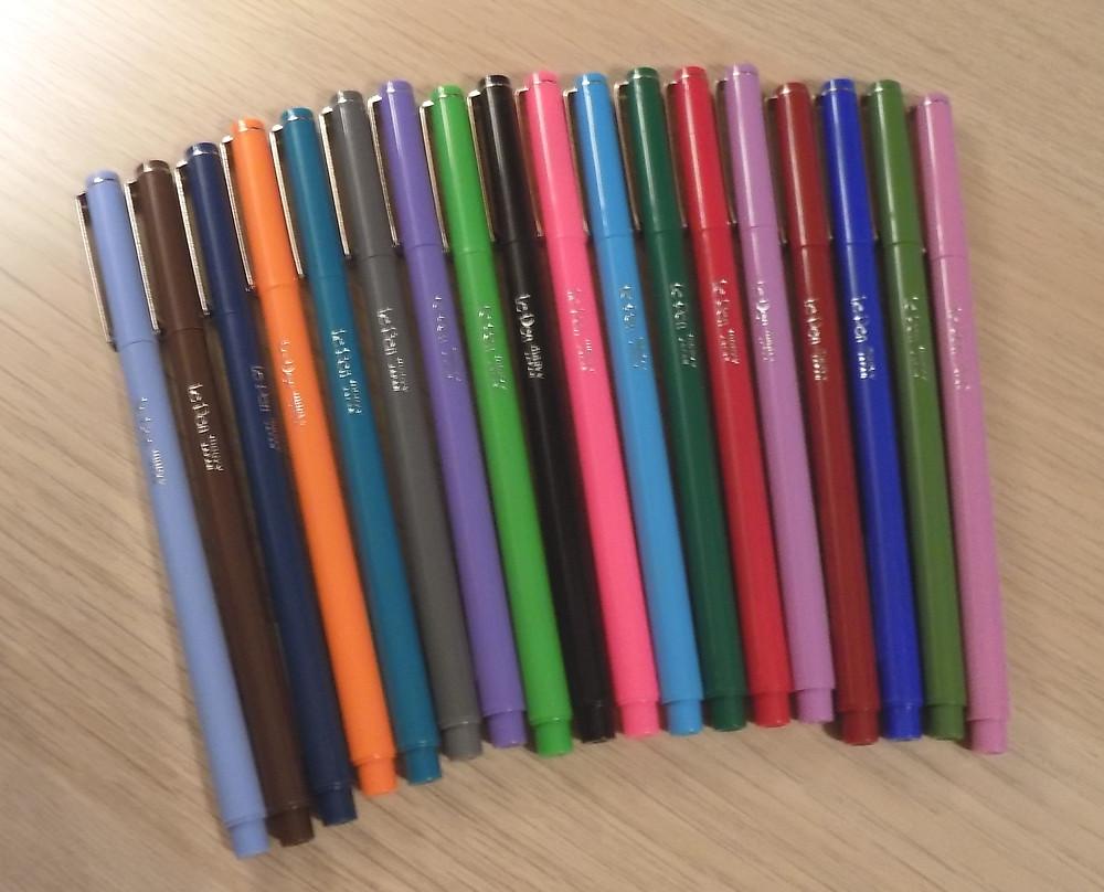Favorite Pens for Bullet Journal