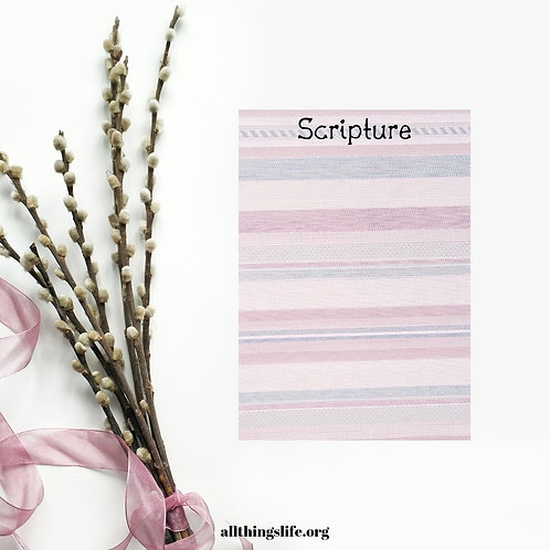 Blank Scripture Stickers - 2 Full Pages