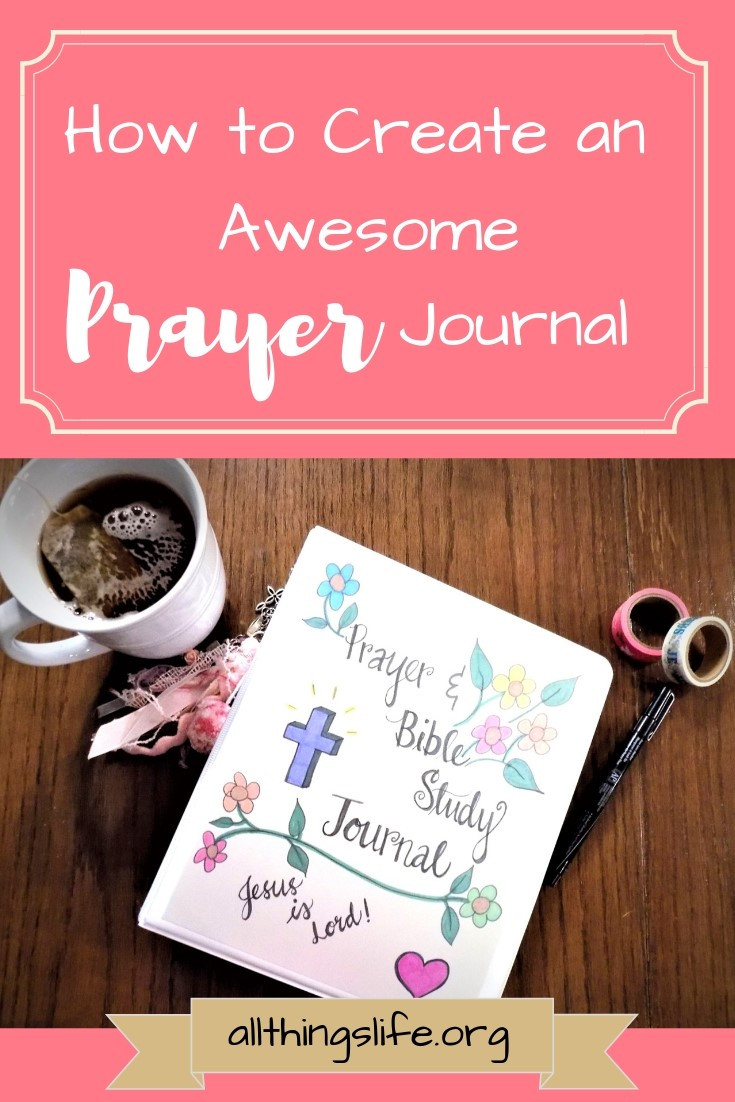 How to create a prayer journal